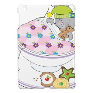 Teacup Mouse iPad Mini Covers