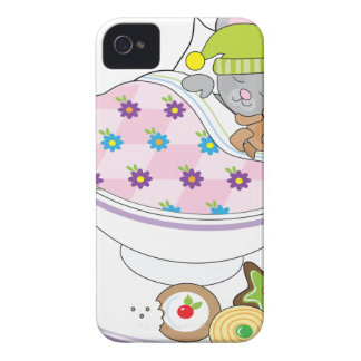 Teacup Mouse iPhone 4 Case