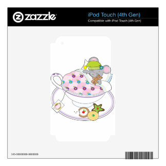 Teacup Mouse iPod Touch 4G Skins