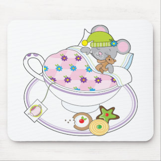 Teacup Mouse Mouse Pad
