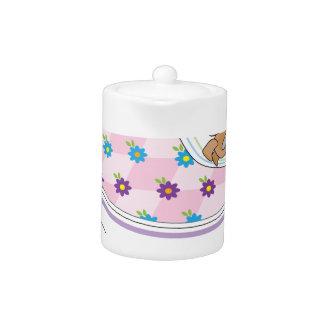 Teacup Mouse Teapot