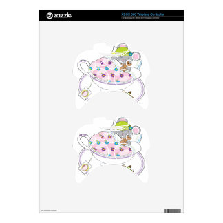 Teacup Mouse Xbox 360 Controller Skin