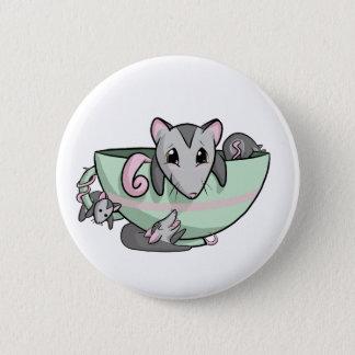 Teacup Possum! Button