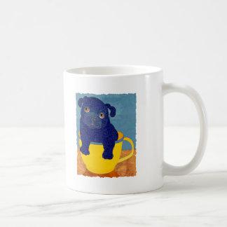Teacup Pug Coffee Mug