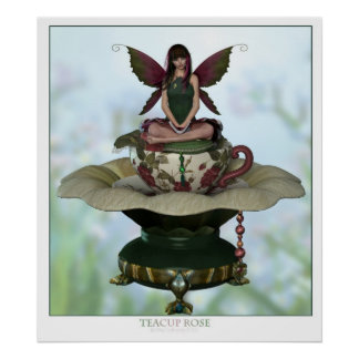 Teacup Rose 2 Poster