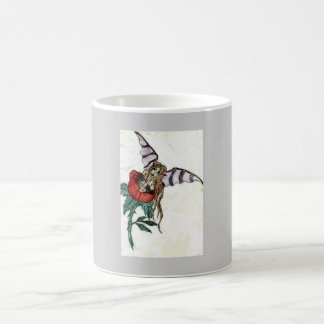 Teacup Rose Fairy cup 11 Oz Magic Heat Color-Changing Coffee Mug