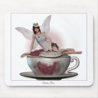 Teacup_Rose Mouse Pads