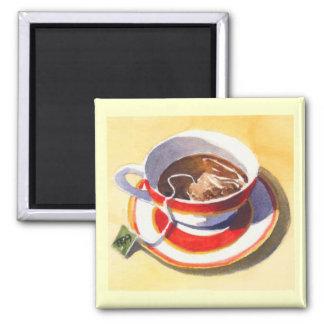 Teacup & Saucer with Teabag Magnet