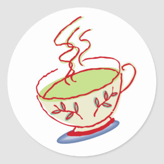 Teacup stickers