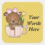 Teacup Teddybear Sticker