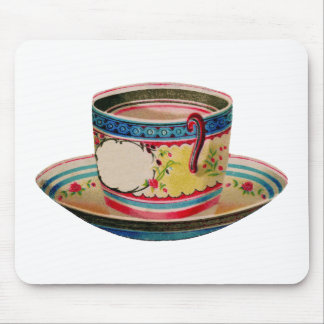 teacup vintage mouse pads
