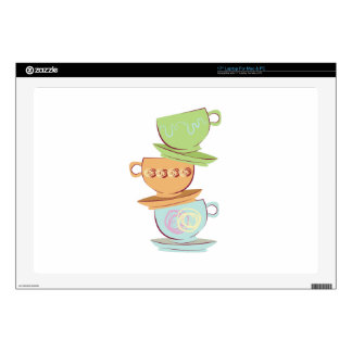 Teacups Decals For Laptops