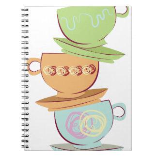Teacups Note Books