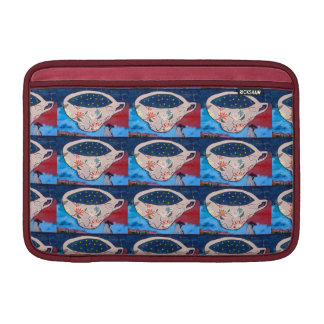 Teacups with Stars Sleeves For MacBook Air