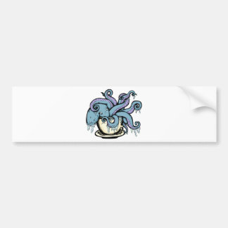 Teacuptopus Bumper Sticker