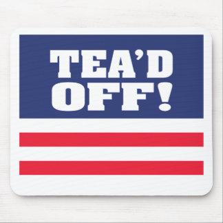 ¡Tea'd apagado! Tapete De Ratones