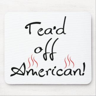 Tea'd del americano tapetes de ratones