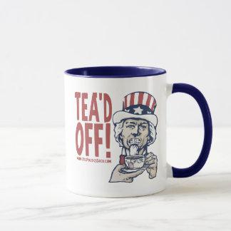 Tea'd del tío Sam por política del sí chupa