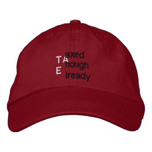 TEA'd Embroidered Baseball Hat