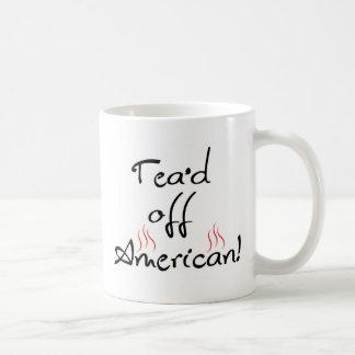 Tea'd Off American Classic White Coffee Mug