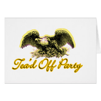 Tead Off Party Card