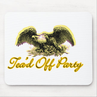 Tead Off Party Mouse Pad