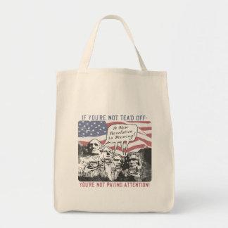 Tea'd Off Rushmore Tea Party Gear Canvas Bag