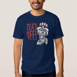 Tea'd Off Uncle Sam by Yes Politics Suck Tee Shirt