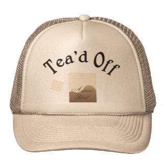 teadoff trucker hat