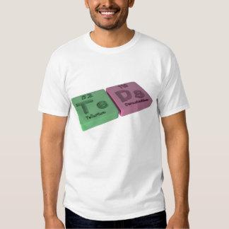 Teads as Te Tellurium  and Ds Darmstadtium Shirt