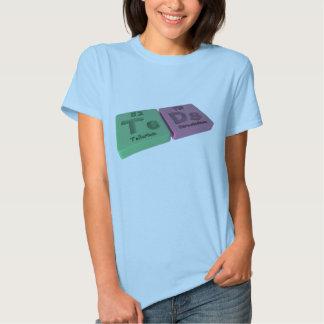 Teads as Te Tellurium  and Ds Darmstadtium T-shirt