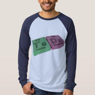 Teads as Te Tellurium  and Ds Darmstadtium T Shirt