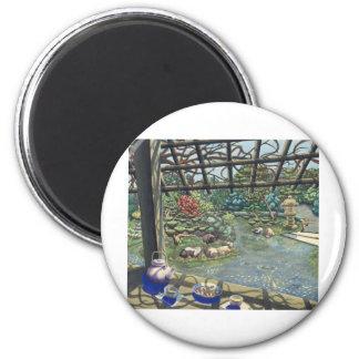 TeaGarden 2 Inch Round Magnet