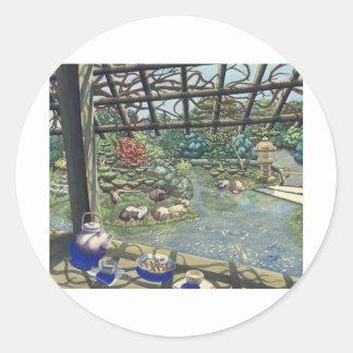 TeaGarden Classic Round Sticker