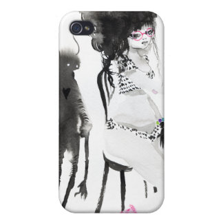 TeaGhosts by Anneli Olander Cover For iPhone 4