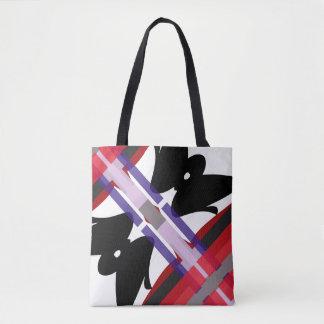Teahouse Abstract Tote Bag