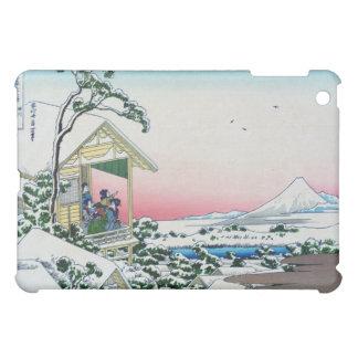 Teahouse at Koishikawa morning after a snowfall iPad Mini Cover