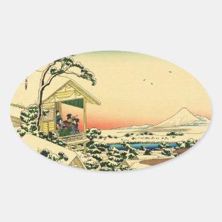 Teahouse at Koishikawa Oval Sticker