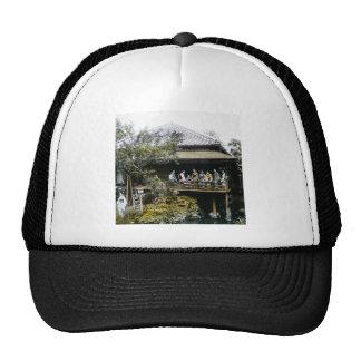 Teahouse Geisha of Old Japan Vintage Japanese Trucker Hat