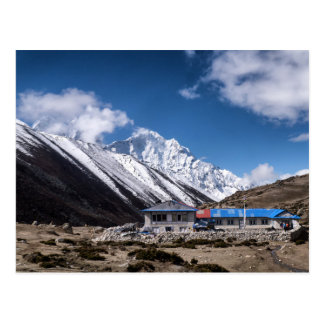 Teahouse in the Himalayan Mountains (Dingboche) Postcard