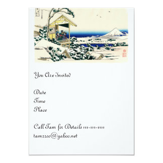Teahouse on Koishikawa Card