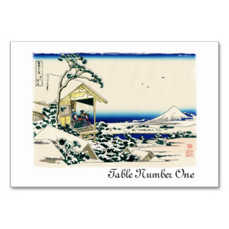 Teahouse on Koishikawa Table Cards