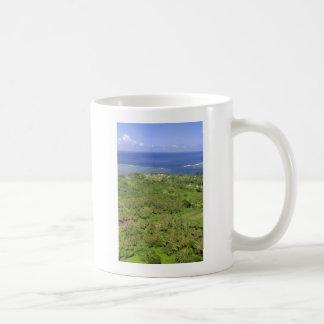 Teahupoo Tahiti Classic White Coffee Mug