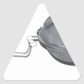 TeaInfuser120912 copy.png Pegatina Triangular