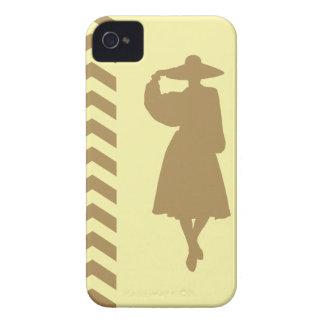 Teak Cream Neutral Chevrons Fashion iPhone 4 Case-Mate Cases