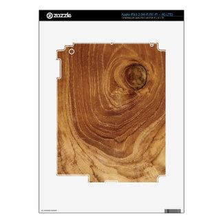 Teak Rustic Wood Grain Nature Wooden iPad Skin