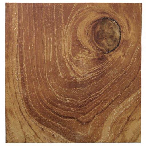 teak rustic wood grain nature wooden photo napkin zazzle