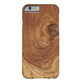 Teak Rustic Wood Grain Photo iPhone 4 CaseMate Barely There iPhone 6 Case