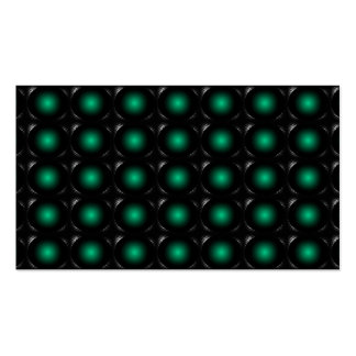 Teal 3D Illusion Unusual Business Card 3