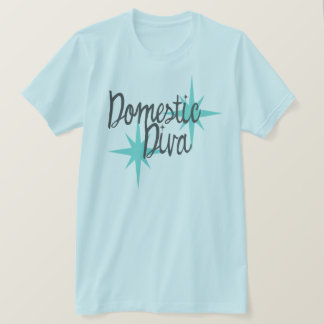 Teal 50s vintage moms shirt